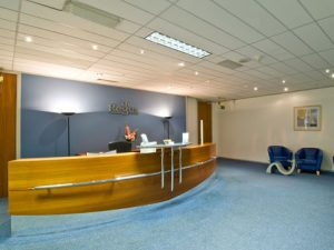 8 Exchange Quay - Office Reception