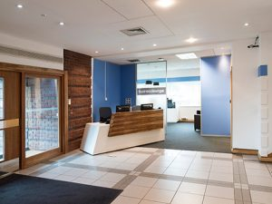 The Quadrant - Office Reception